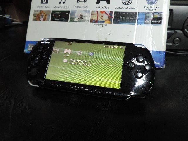 PSP 3001 Desbloqueado c/ Jogos