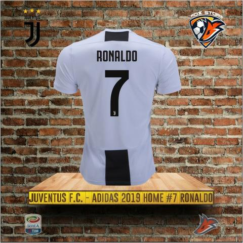 c72154fc0a Camisa Juventus 2018 2019 CR7 Cristiano Ronaldo Home Adidas Masc ...