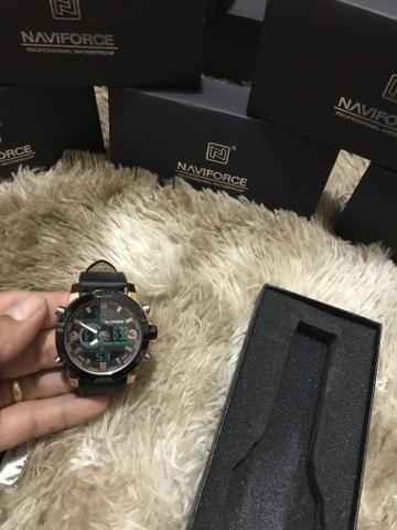 Não perca tempo de presentear , Relógio naviforce Original novo ! - Foto 2