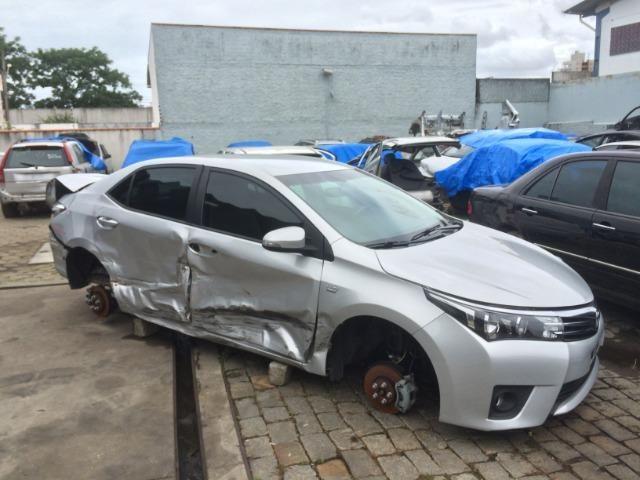 Sucata Toyota Corolla 2015/2016 - Venda De Peças