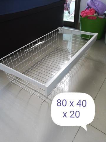 f3eb311e15d Cesto aramado para closet Leroy Merlin - Móveis - Jacarepaguá