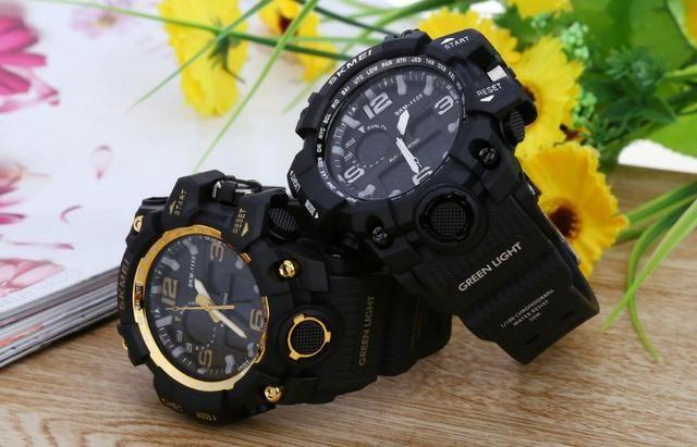 63b038f3636 Relógio Masculino G-Shock Skmei 1155 Original - Bijouterias ...