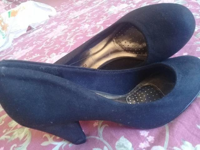 1f9b2fdfce53a Sapato nobuck preto 38 - Roupas e calçados - Jardim São João