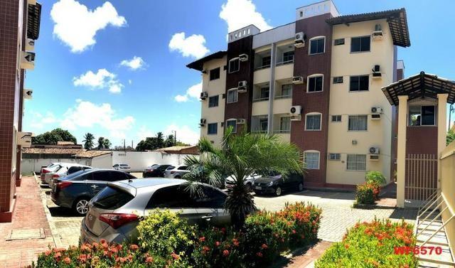 AP1351 Residencial Uirapuru, alugo apartamento com 3 quartos, próximo arena Castelão - Foto 5
