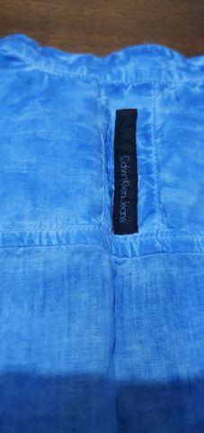 Camisa tipo Bata, Calvin Klein ( original), em Excelente estado - Foto 3