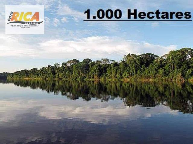 Fazenda com 1000 Hectares à venda na Beira do Rio Aripuanã/AM-Cód.FA0158
