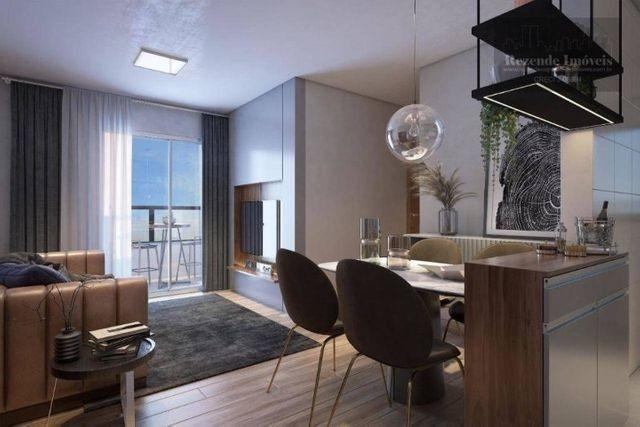 C-AP1645 Apartamento com 2 dorm à venda, 53 m² por R$ 297.900 - Bacacheri - Curitiba/PR - Foto 3