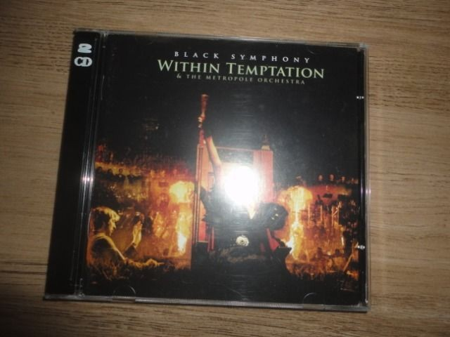 CD + DVD Within Temptation Black Symphony / Original Importado - Foto 6