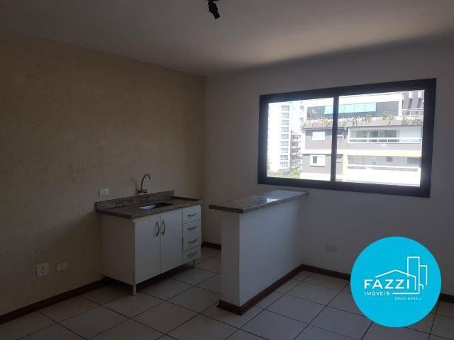 Flat com 1 dormitório para alugar por R$ 700,00/mês - Jardim Cascatinha - Poços de Caldas/ - Foto 3