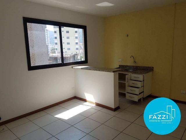 Flat com 1 dormitório para alugar por R$ 700,00/mês - Jardim Cascatinha - Poços de Caldas/ - Foto 10