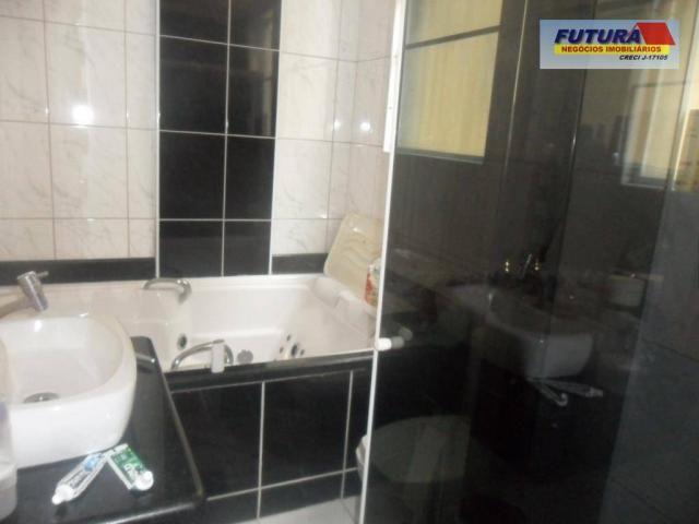 Apartamento com 3 dormitórios à venda, 127 m² por R$ 395.000,00 - Gonzaguinha - São Vicent - Foto 16
