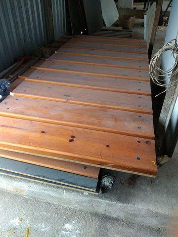 Painel canaletado de madeira 499,00 a peça  - Foto 2