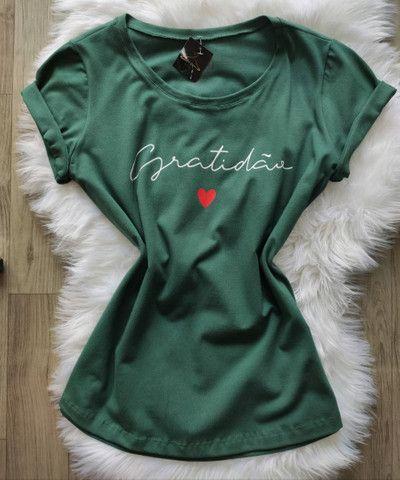 T-shirts/blusa feminina  - Foto 4