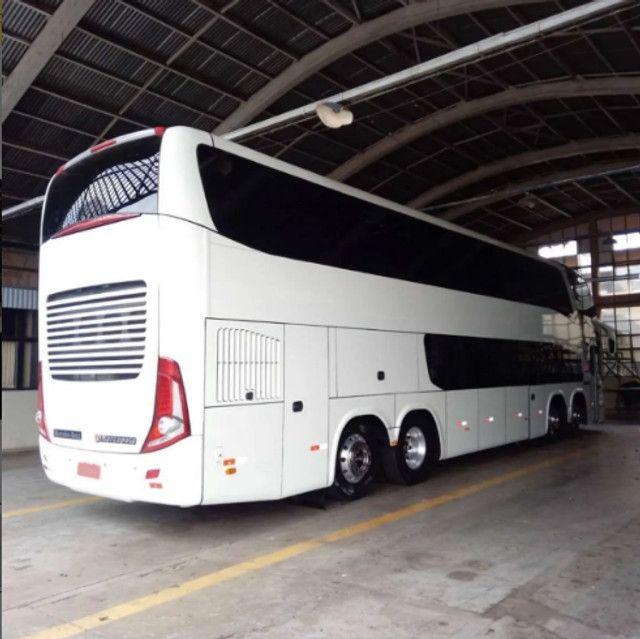 Ônibus Leito Cama Marcop Paradiso 1800 Dd G7 - Foto 6