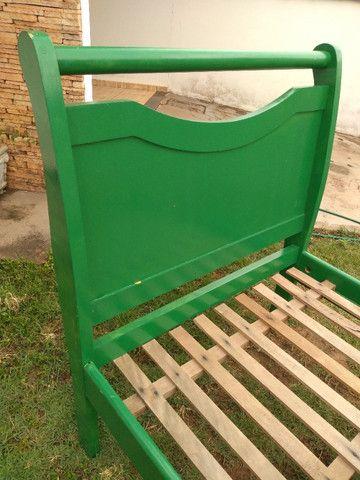 Espreguiçadeira de madeira personalizada - Foto 3