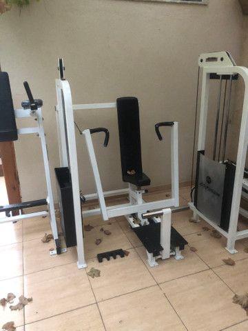 Academia Musculação Life Fitness em ótimo estado - Foto 2