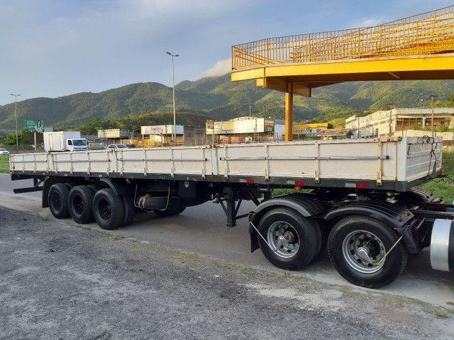 Carreta Reboque Krone S Cot Cabb carga seca com pino de container ANO 1994   - Foto 5