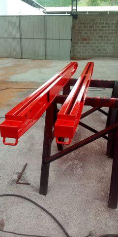 Barrotes de Ferro / Cavaletes comuns e de lança - Foto 2