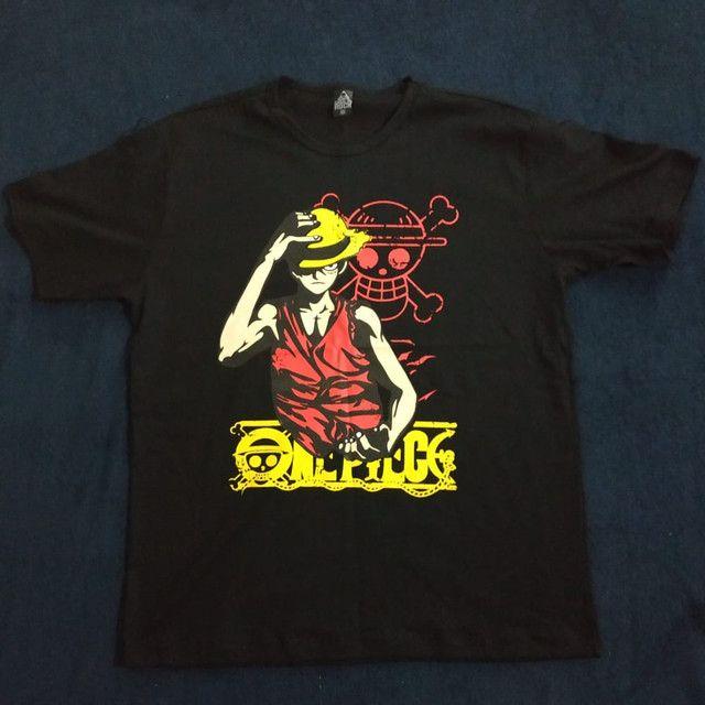 Camisetas de Anime One piece , naruto e one punch - Foto 2