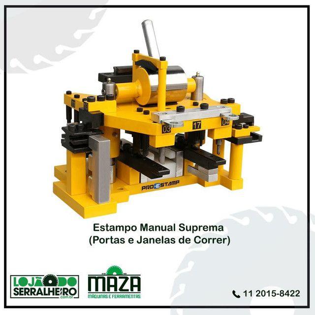 Estampo Manual Linha Suprema SPR-050 - Pro Stamp - Maza Máquinas - Foto 2