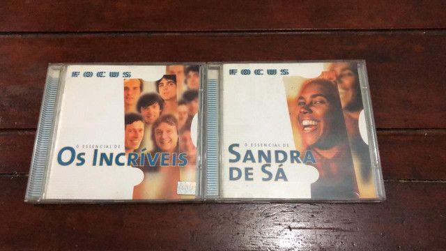 CDs Coleção Pérolas / Sucessos / Para Sempre / Música! / Focus - Foto 5