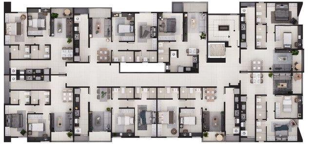 Lançamento no Bessa - Apartamentos 1, 2 e 3 quartos - Elevador e lazer na cobertura - Foto 9