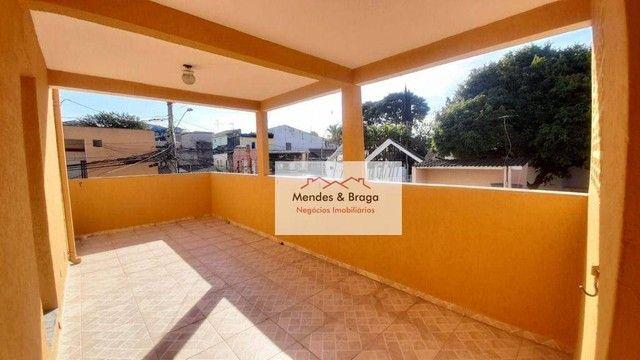 Sobrado com 4 dormitórios para alugar, 160 m² por R$ 2.500,00/mês - Cocaia - Guarulhos/SP - Foto 8