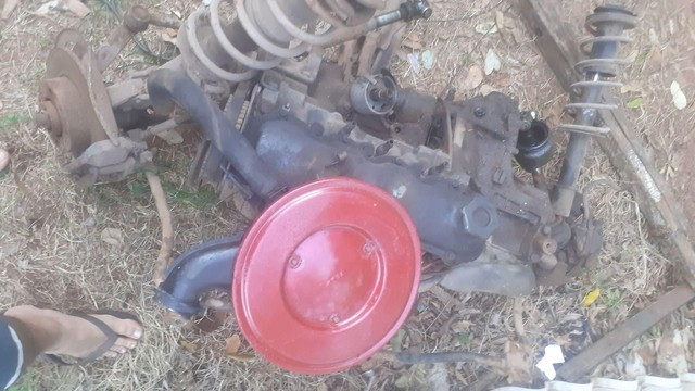 Motor e câmbio Fiat 1050  - Foto 2