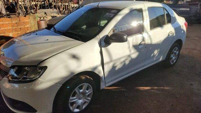 Renault Logan 2019/2020 Usado Com Garantia Peças - Foto 6