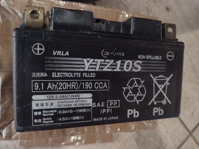 bateria para moto yuasa japonês 12v.  - Foto 4