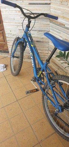 Vendo bike aro 20. Usada 1 vez  - Foto 4