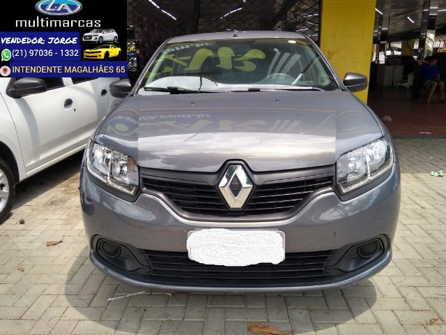 Renault Logan Authentic 2020 _ entrada apartir de 10mil + 48x 727,00 fixas - Foto 2