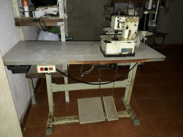 Máquina de costura industrial Bracob BC26003 branca<br><br> - Foto 3
