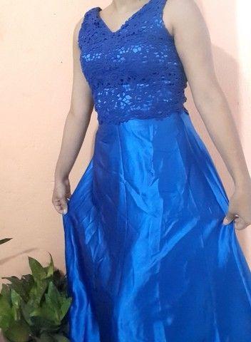 Vestido azul  - Foto 3
