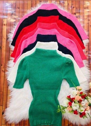 Casaco tricô e blusas - Foto 3