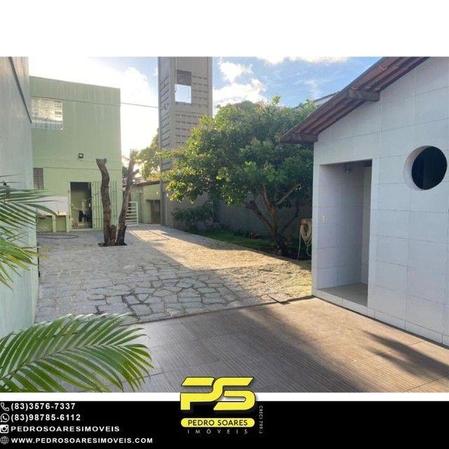 Casa com 5 dormitórios para alugar, 1.120 m² por R$ 16.000/mês - Estados - João Pessoa/PB - Foto 9