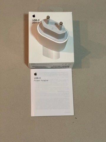 Adaptador de energia Apple USB- C  20W  - Foto 4