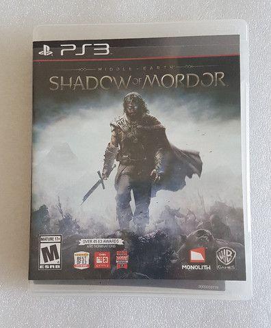Jogo Shadow of Mordor - PS3 Mídia Física Original (seminovo)