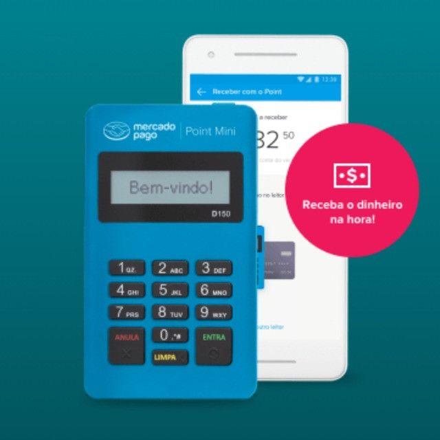 Maquininha De Cartão Point Mini Pronta Entrega Whatsapp *