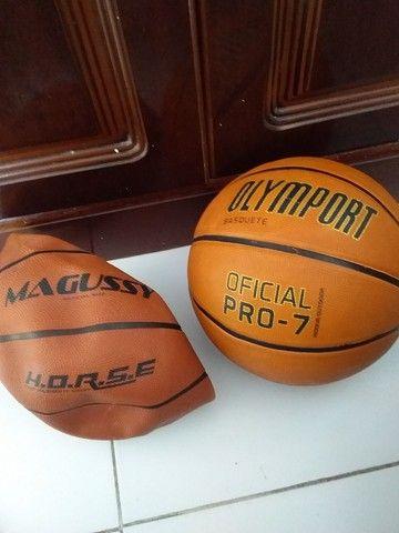Bolas de Basket Mirim e Adulto zeras.