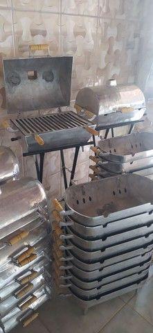 Churrasqueira de alumínio - Foto 3