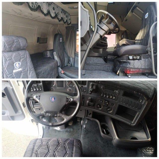 Scania g380 g420 volvo fh 440 460 mb iveco man carretas graneleiro cacamba - Foto 13