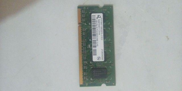 Memória Notebook 1 GB ddr 2  - Foto 3