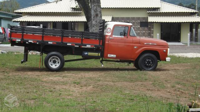 Ford f350 1969 ( motor mb 608) - R$20.000