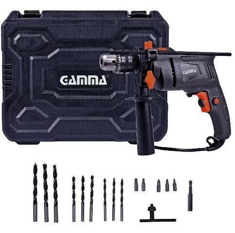 Furadeira De Impacto 1/2 500w Com Acessórios Gamma 220v