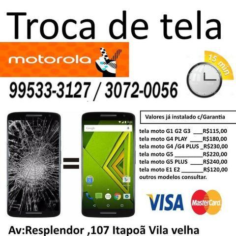 Display Motorola Moto g Tela completa