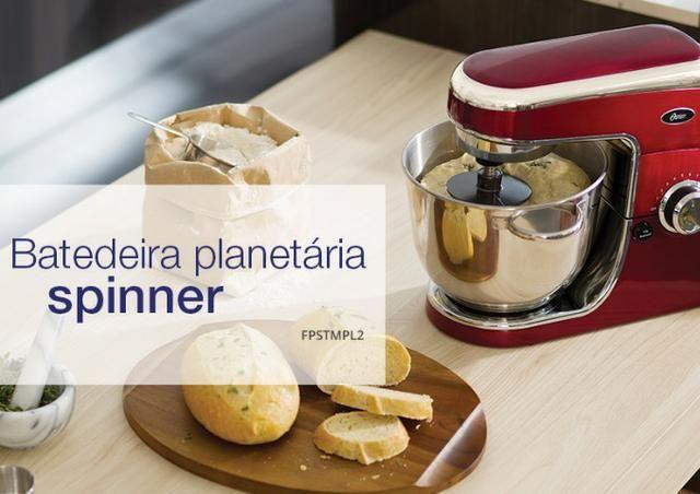 Batedeira Planetária Oster Spinner 4,3L Para Confeitaria ,mini Padaria ,Comece Seu negocio