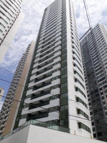 Apartamento novo em Boa Viagem, 03 quartos, 105 m², 02 vagas e varanda gourmet