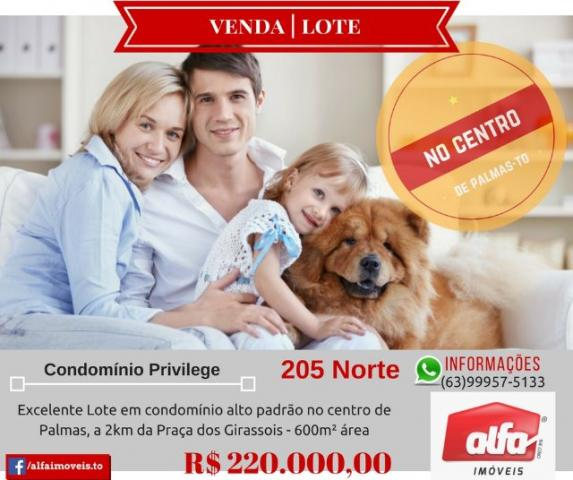 Lote Residencial 205 Norte