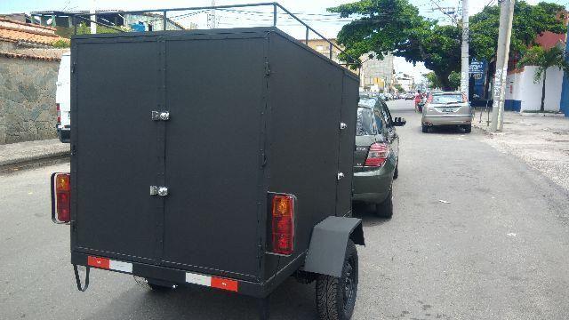 Reboque Baú para cargas 0KM a partir de R$ 3.800,00